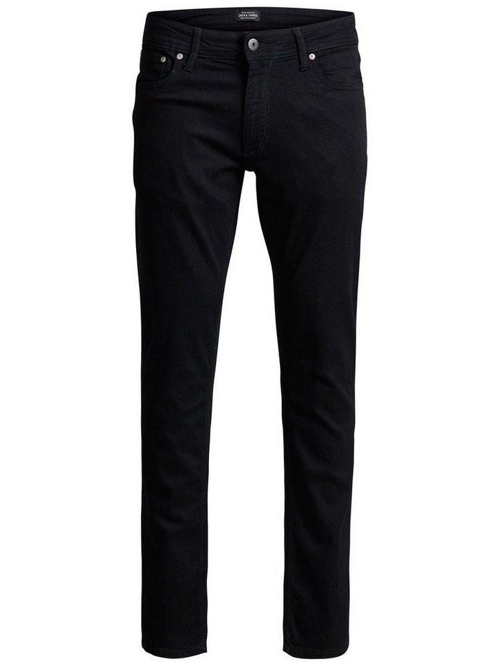 Jack & Jones Tim Original AM 009 Slim Fit Jeans in Black Denim