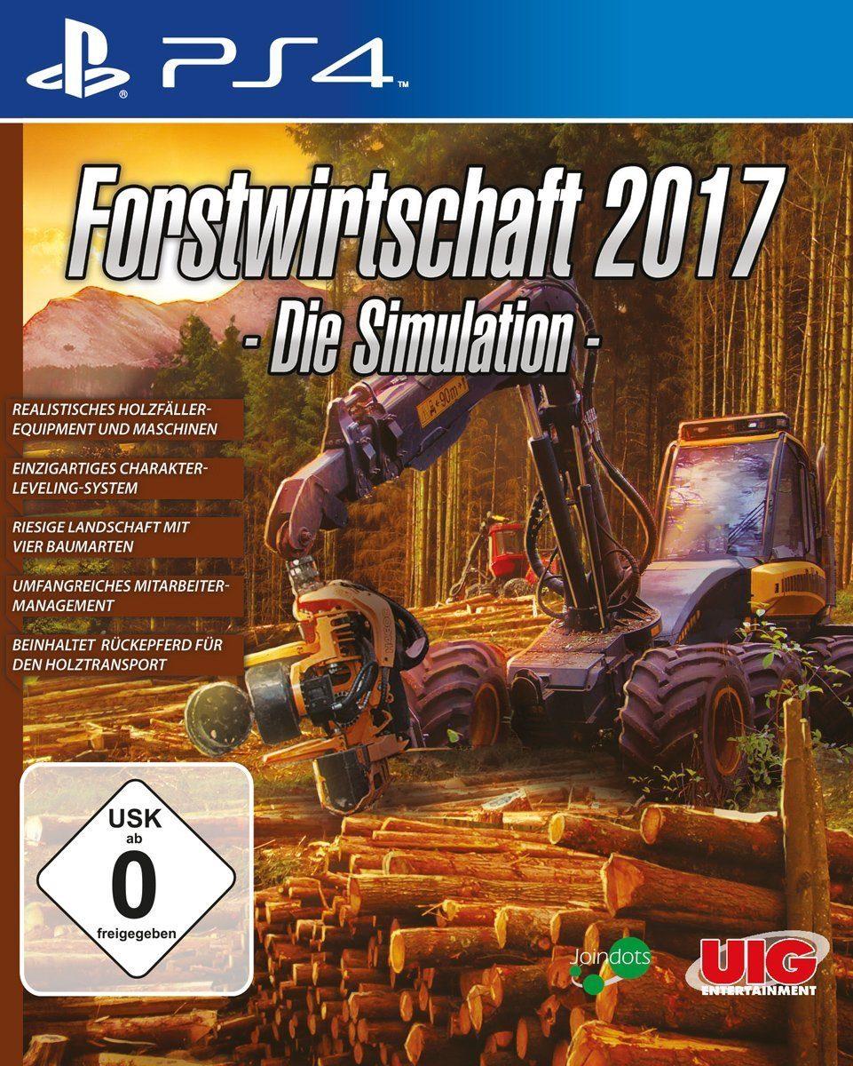 UIG Forstwirtschaft 2017 - Die Simulation »(PS4)«