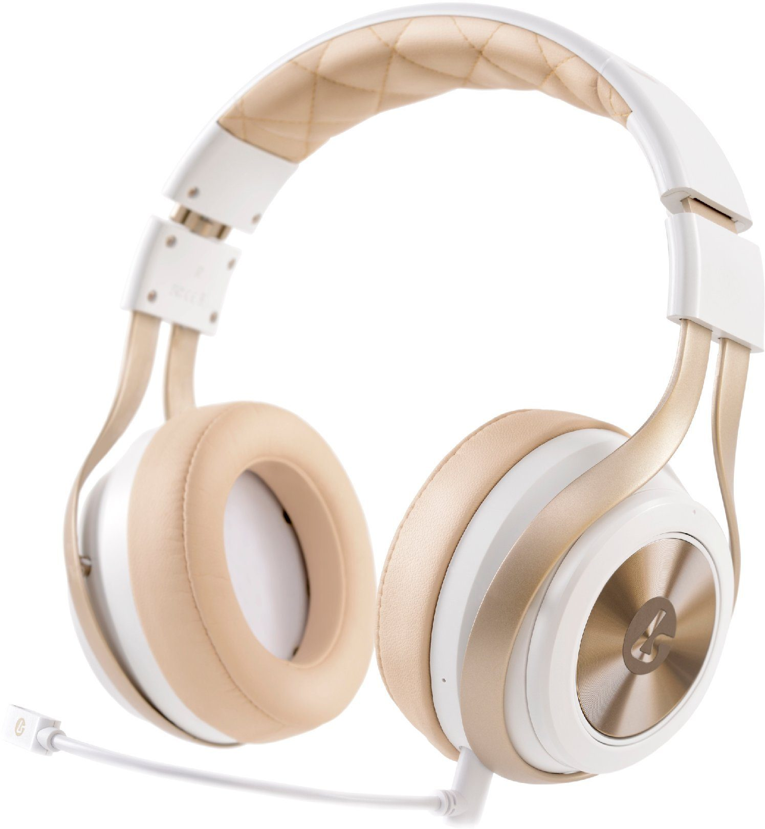 Lucid Sound LS30 Wireless Gaming Headset in Weiss »PS4 PS3 XBox One X360 PC Tablet/Smartphone«