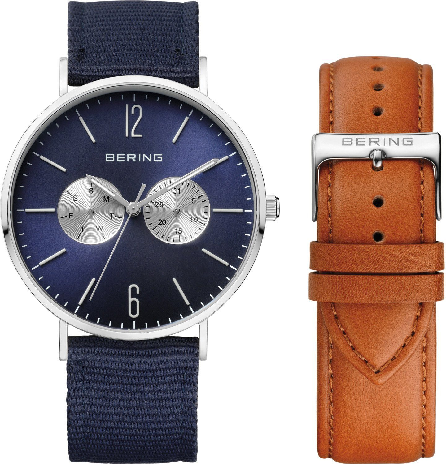 Bering Multifunktionsuhr »14240-507« mit 1 Wechselband (Set, 2 tlg.)