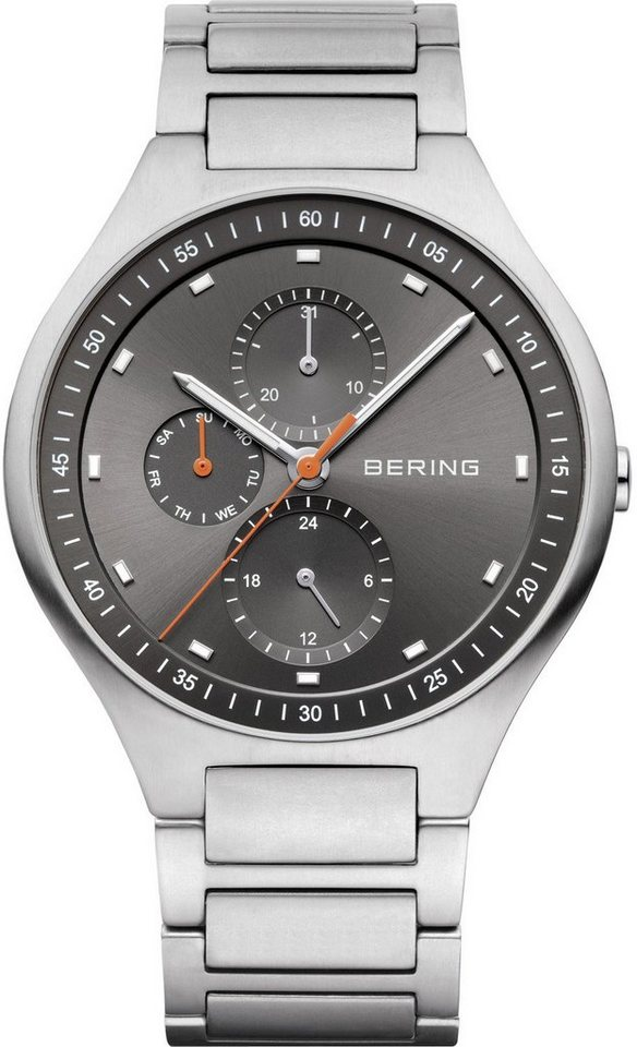 Bering Multifunktionsuhr »11741-702« in grau