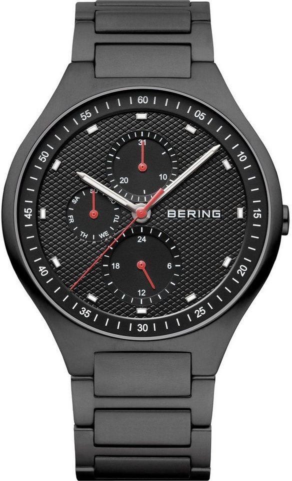Bering Multifunktionsuhr »11741-772« in schwarz