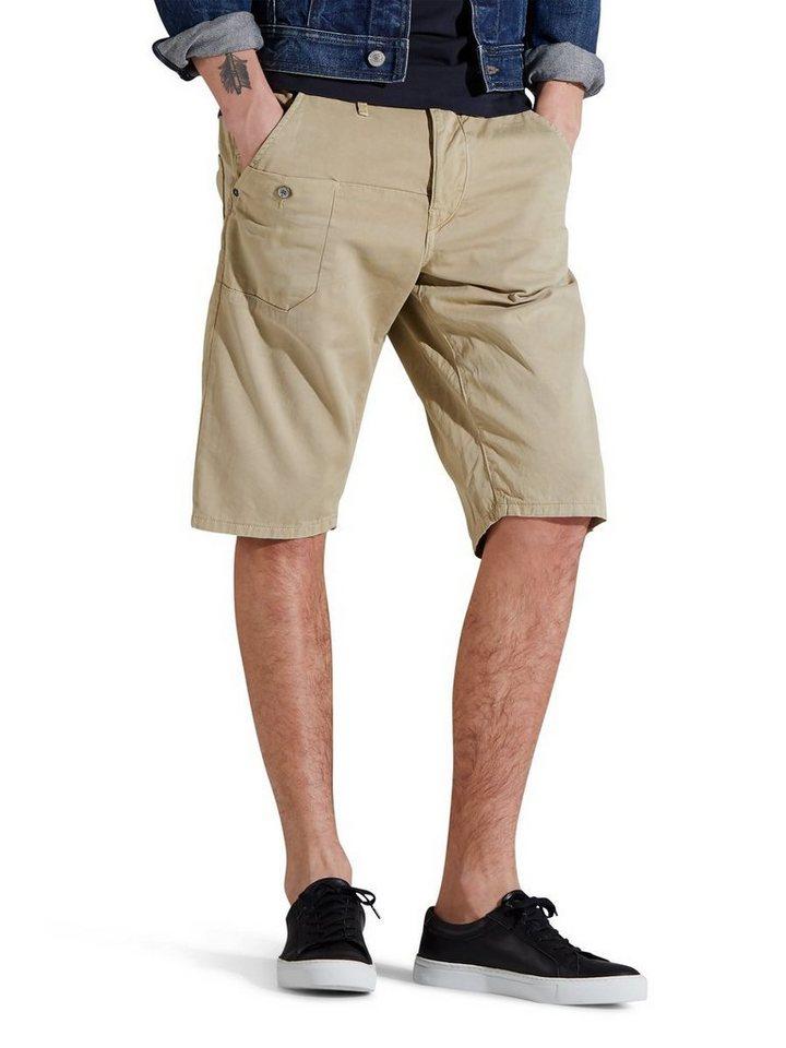 Jack & Jones Scott lange Shorts in CORNSTALK