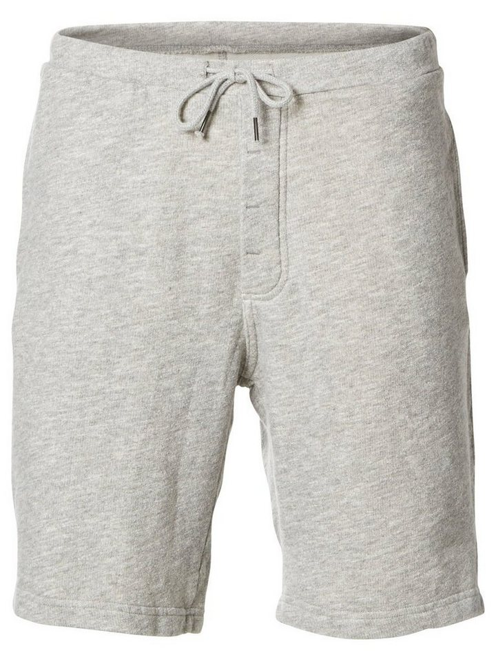 Selected Sweat- Shorts in Light Grey Melange