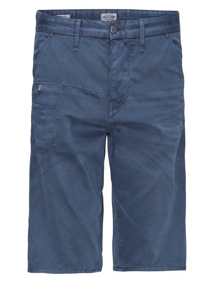 Jack & Jones Scott lange Shorts in Navy Blazer