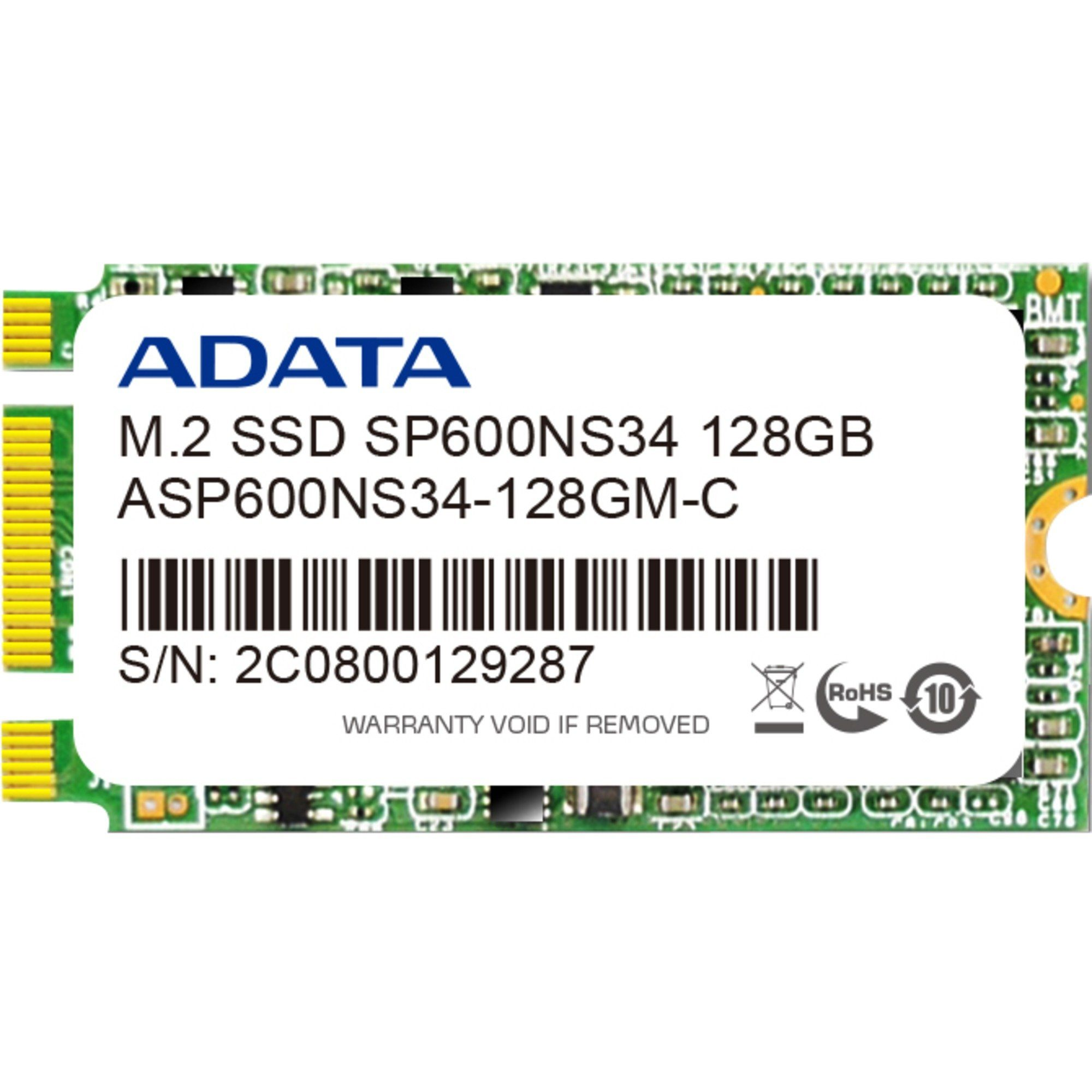 ADATA Solid State Drive »ASP600NS34-256GM-C 256 GB«