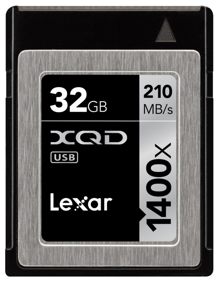 Lexar Speicherkarten »XQD Card 32GB 1400x Professional«