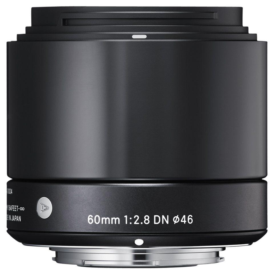 Sigma Objektive »2,8/60 DN MFT« in schwarz