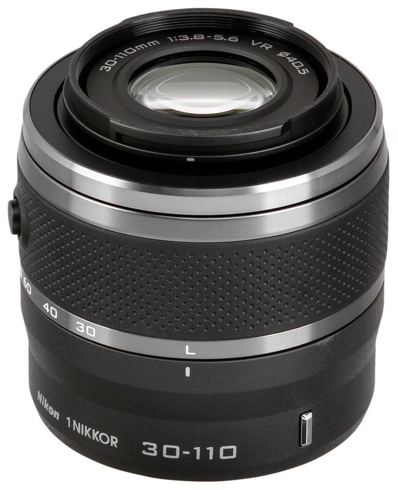 Nikon Objektive »1 NIKKOR 3,8-5,6/30-110 mm VR« in schwarz
