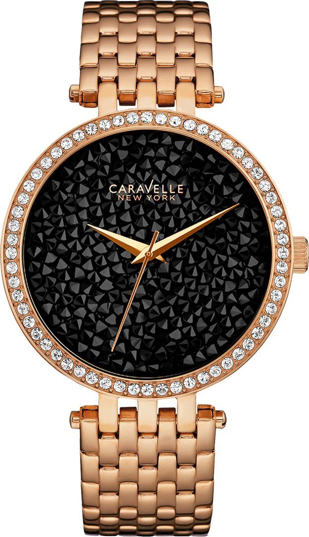 Caravelle New York Quarzuhr »Crystal Rock, 44L231«