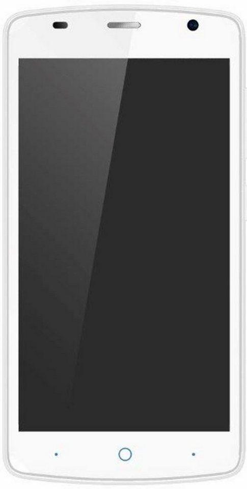 ZTE L5 Plus Smartphone, 12,7 cm (5 Zoll) Display, Android 5.1 Lollipop, 8,0 Megapixel in weiß