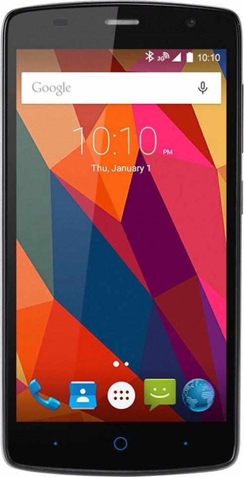 ZTE L5 Plus Smartphone, 12,7 cm (5 Zoll) Display, Android 5.1 Lollipop, 8,0 Megapixel in grau