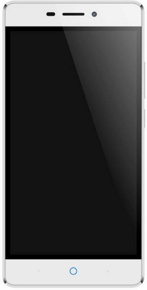 ZTE V580 Smartphone (5,5 Zoll) Display, LTE (4G), Android 5.1 Lollipop, 13,0 Megapixel in Silber