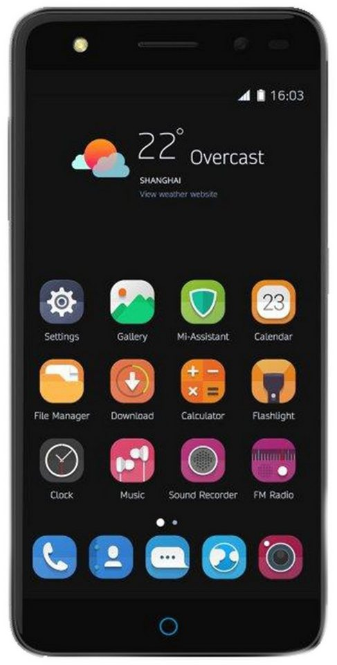 zte blade v7 lite smartphone 12 7 cm 5 zoll display lte 4g android 6 0 marshmallow. Black Bedroom Furniture Sets. Home Design Ideas