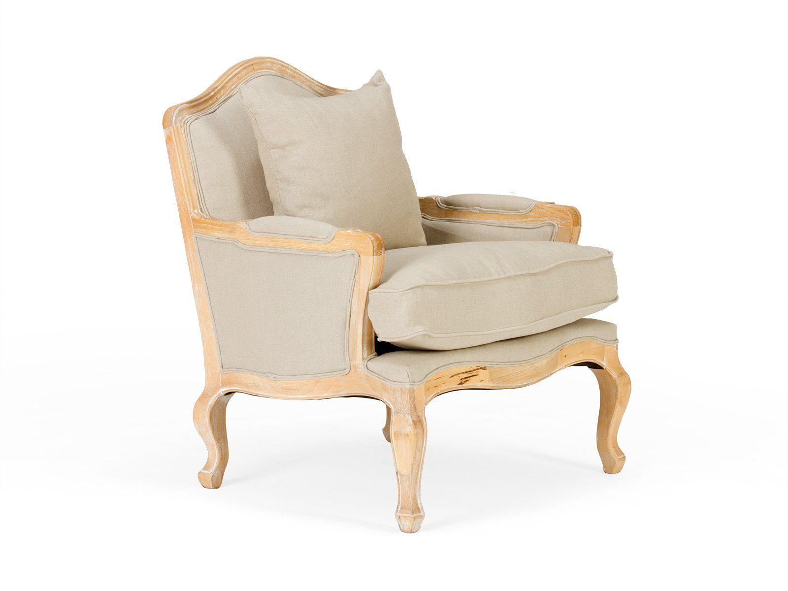 massivum Sessel aus Flachgewebe »Aragon«
