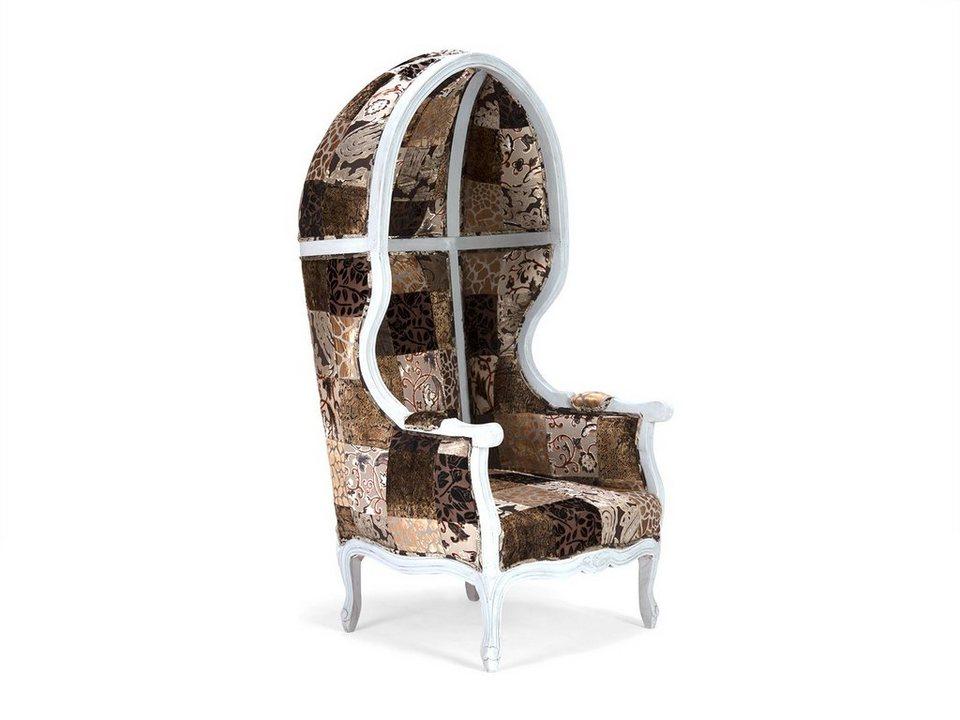 massivum Sessel aus Flachgewebe »Florese« in braun