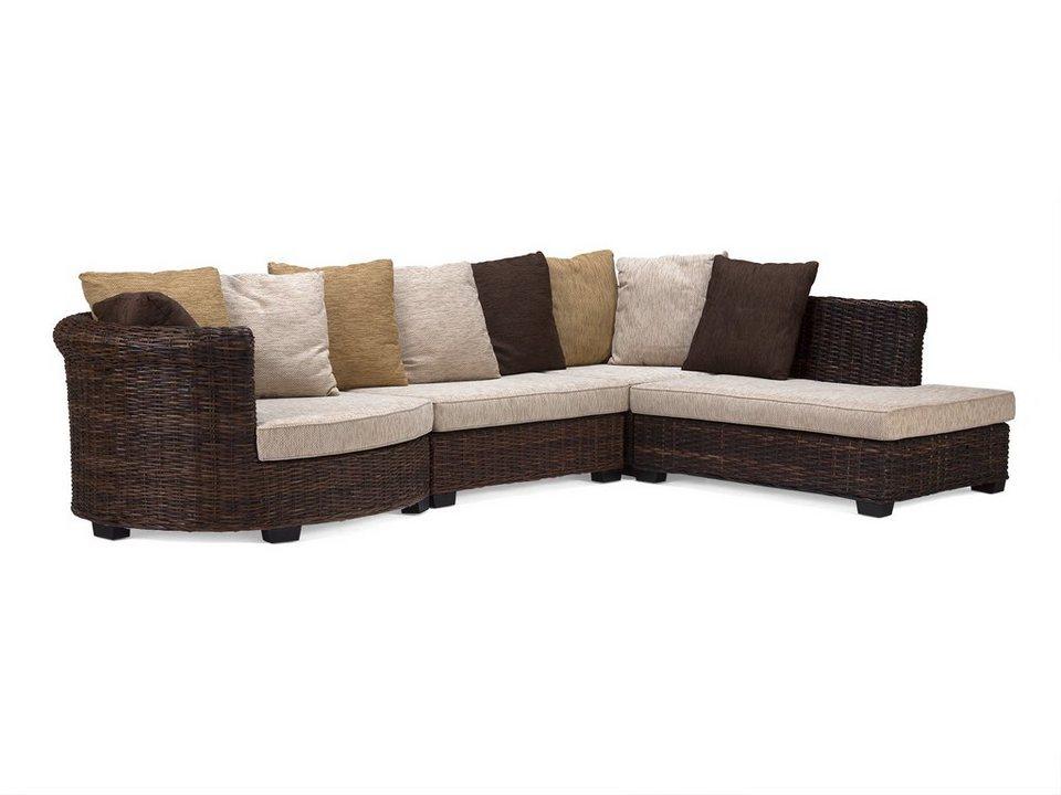 massivum Sofa aus Bambus »Barclay« in braun
