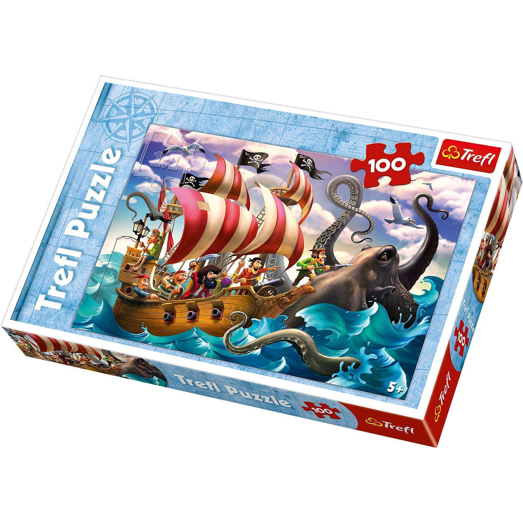 Trefl Puzzle - 100 Teile - Seeungeheuer