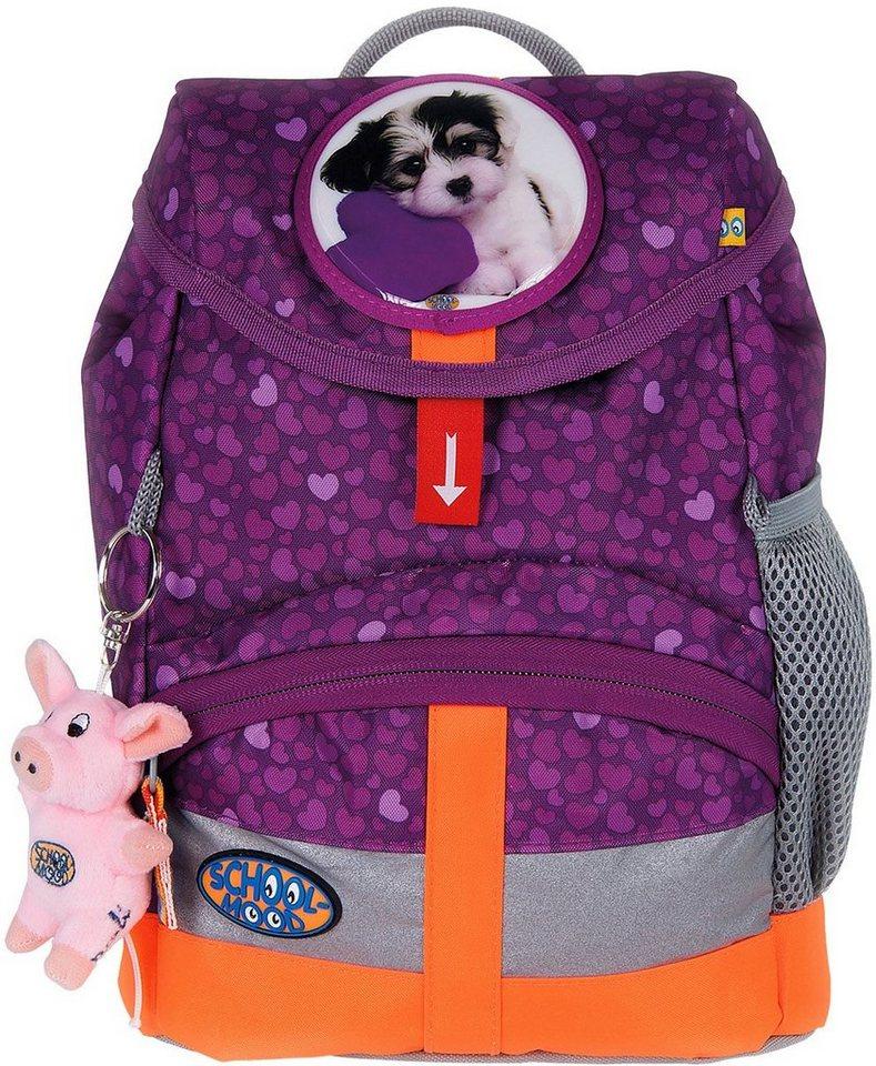 School Mood Kindergartenrucksack mit innenliegendem Trinkflaschenhalter, lilack, »Kiddy Hund« in lila