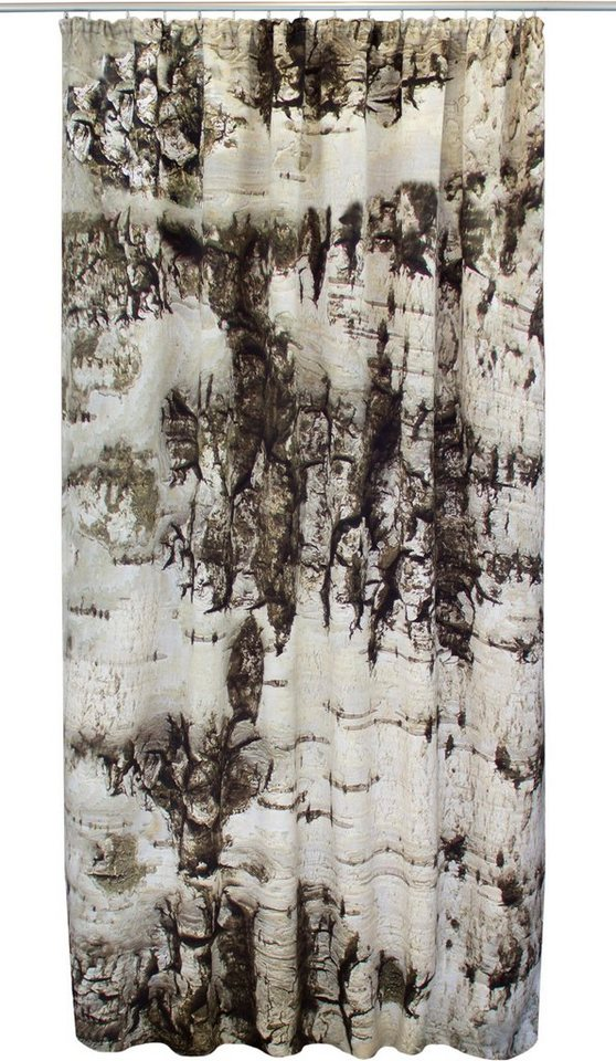 Vorhang, VHG, »Birke« (1 Stück) in hellgrau