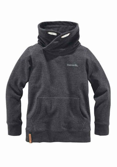 Bench Sweatshirt, Mit großem Schalkragen Sale Angebote Grunewald