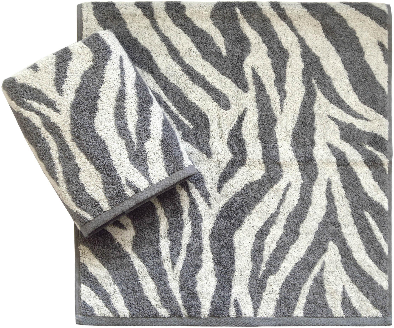 Handtücher, Dyckhoff, »Zebra«, in Zebrastreifen-Optik