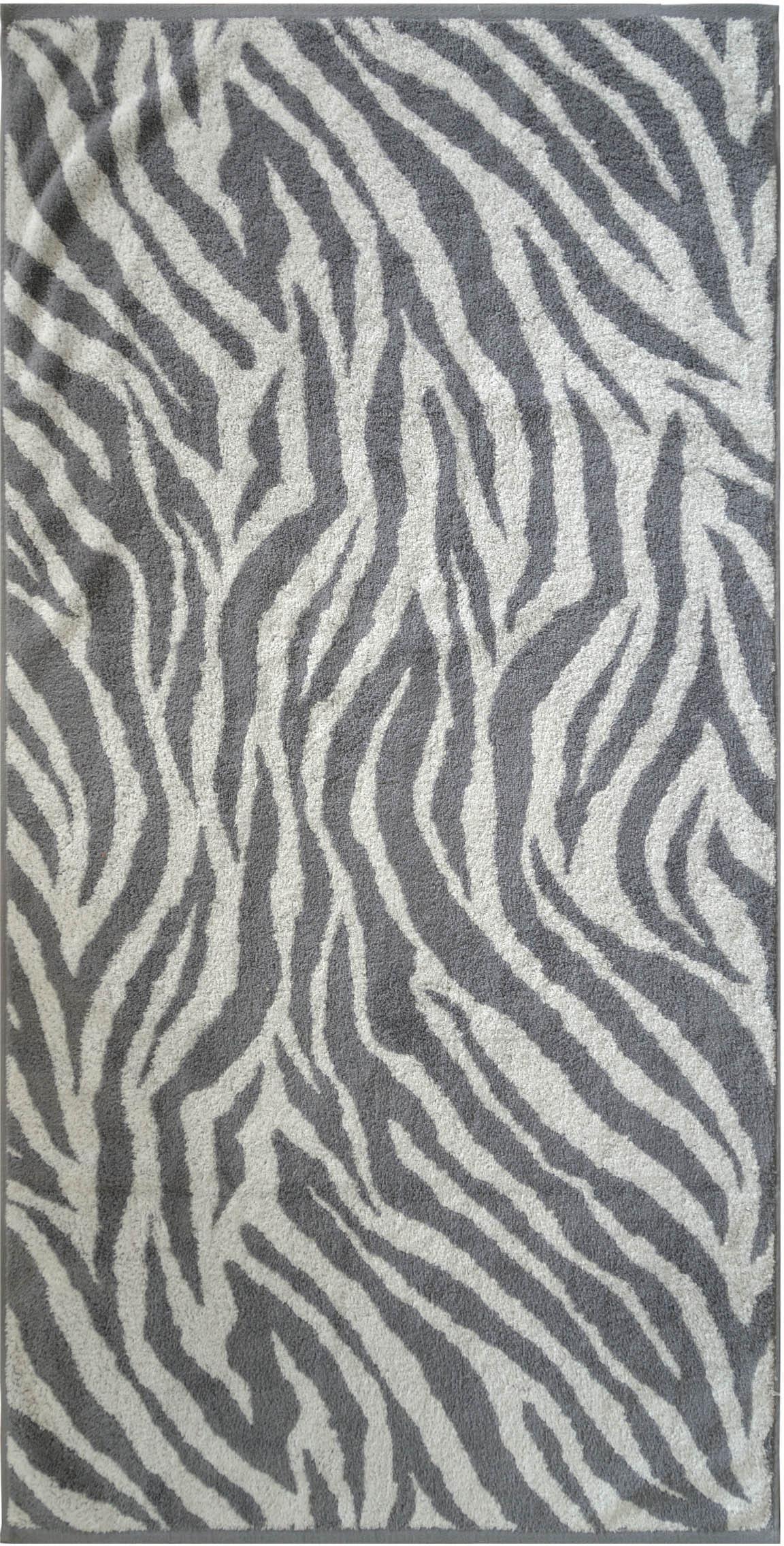 Badetuch, Dyckhoff, »Zebra«, in Zebrastreifen-Optik | Bad > Handtücher > Badetücher | Dyckhoff