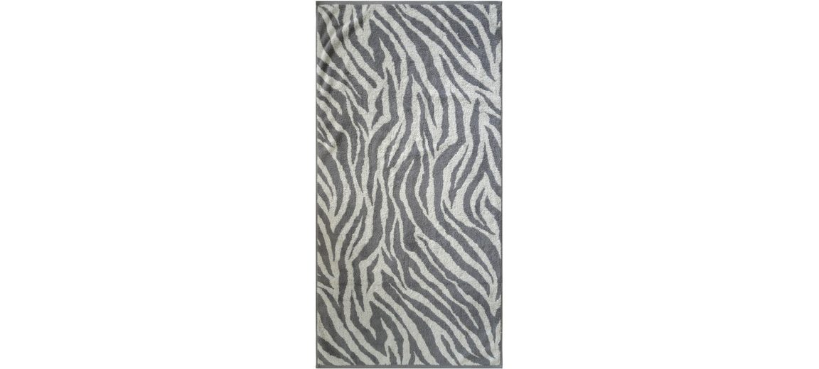 Badetuch, Dyckhoff, »Zebra«, in Zebrastreifen-Optik
