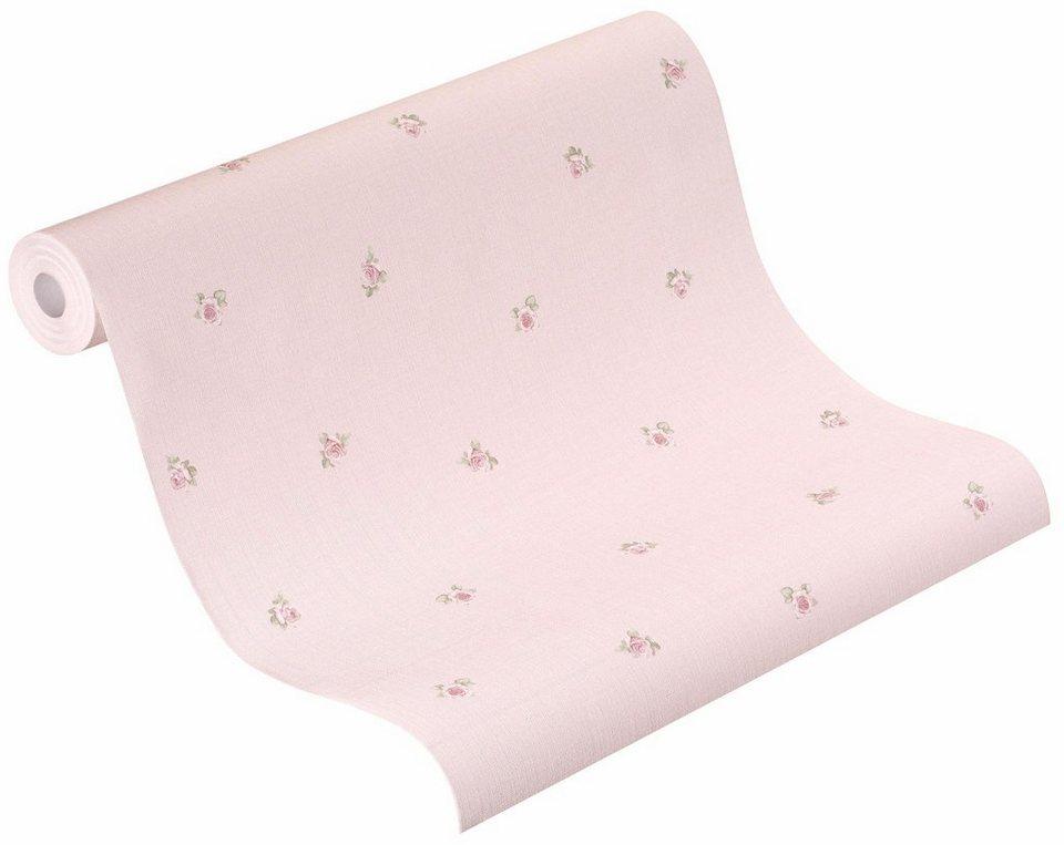 Vliestapete, Rasch, »Lazy Sunday 2« in rosa