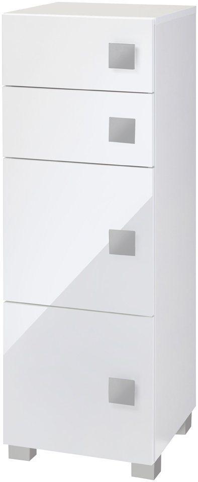 Midischrank »Fiona«, Breite 33 cm in weiß