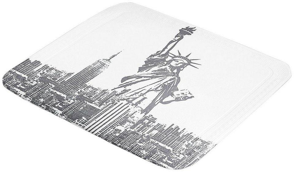 Duscheinlage »Liberty« in platinfarben