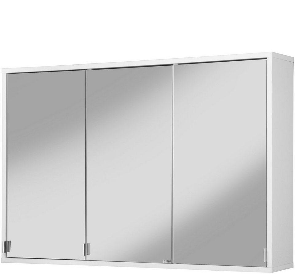 Spiegelschrank »Retro«, Breite 100 cm in weiß