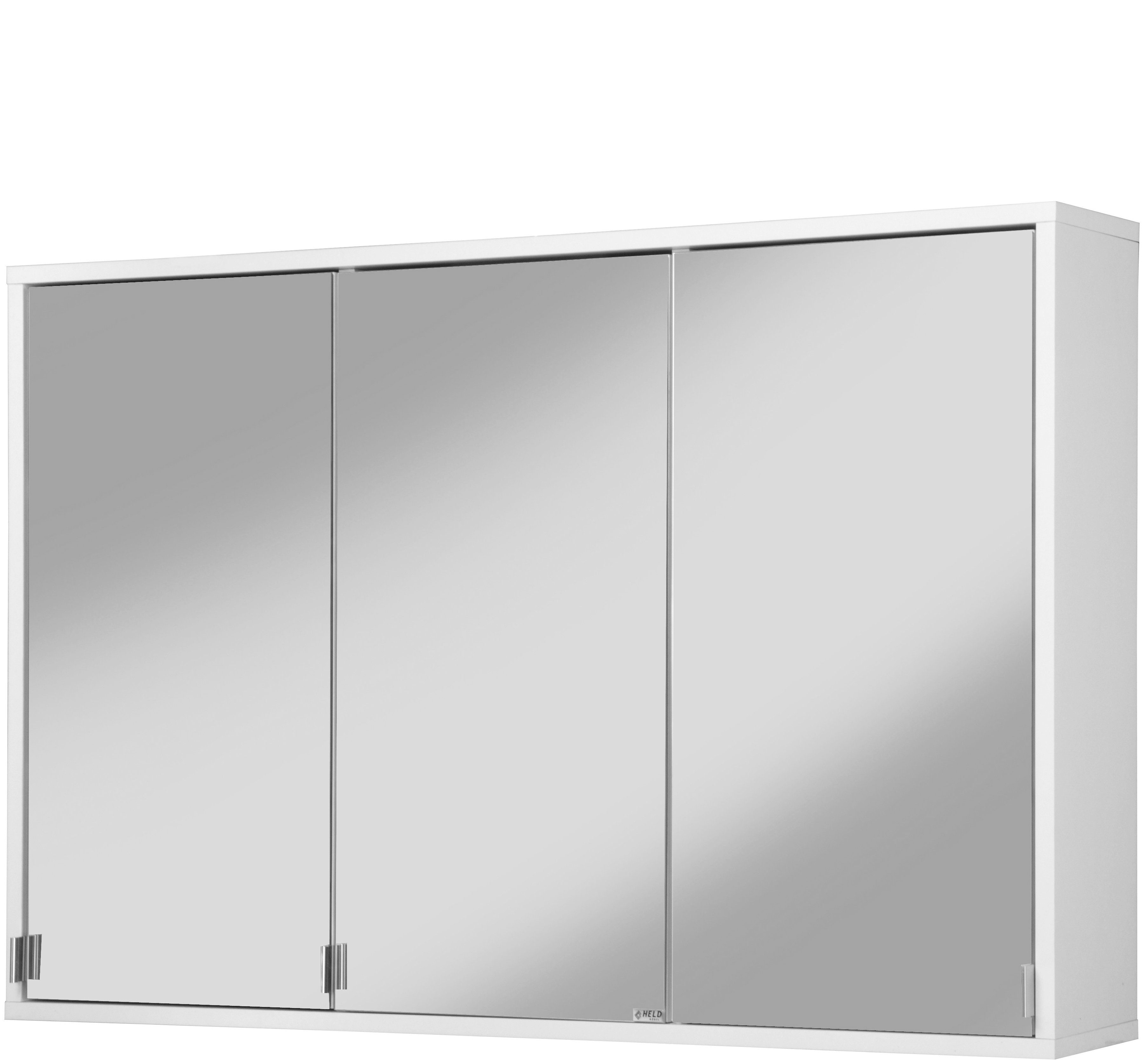 Held Möbel Spiegelschrank »Retro« Breite 100 cm, mit LED-Beleuchtung