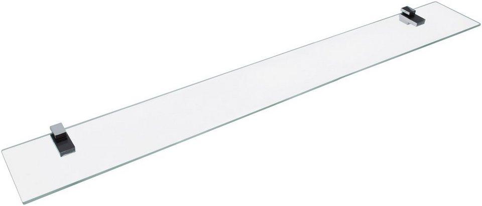 Ablage »aus Glas«, Breite 100 cm in transparent