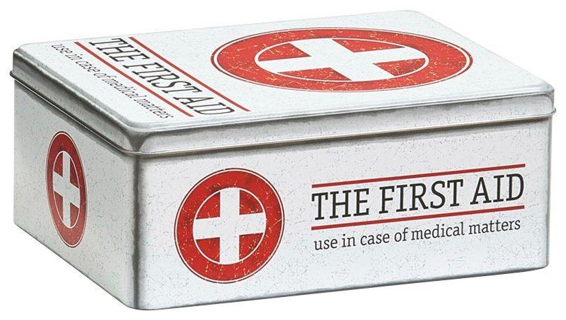 Box »Medizinbox First Aid« in weiß