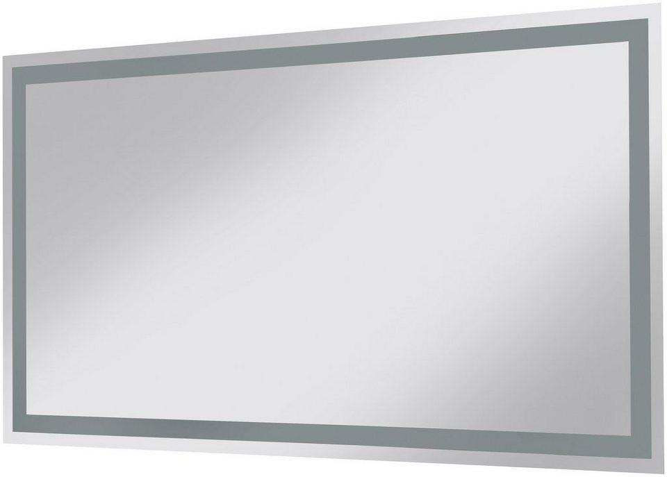 Spiegel / Badspiegel »Neonröhren« Breite 120 cm, mit Beleuchtung in Spiegeloberfläche