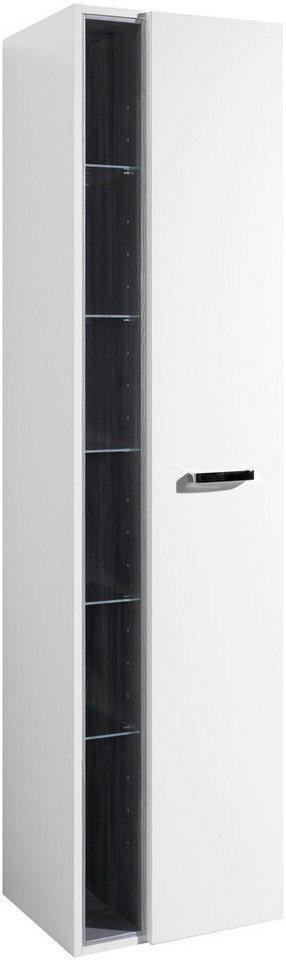 Held Möbel Hochschrank »Ancona«, Breite 45 cm in weiß