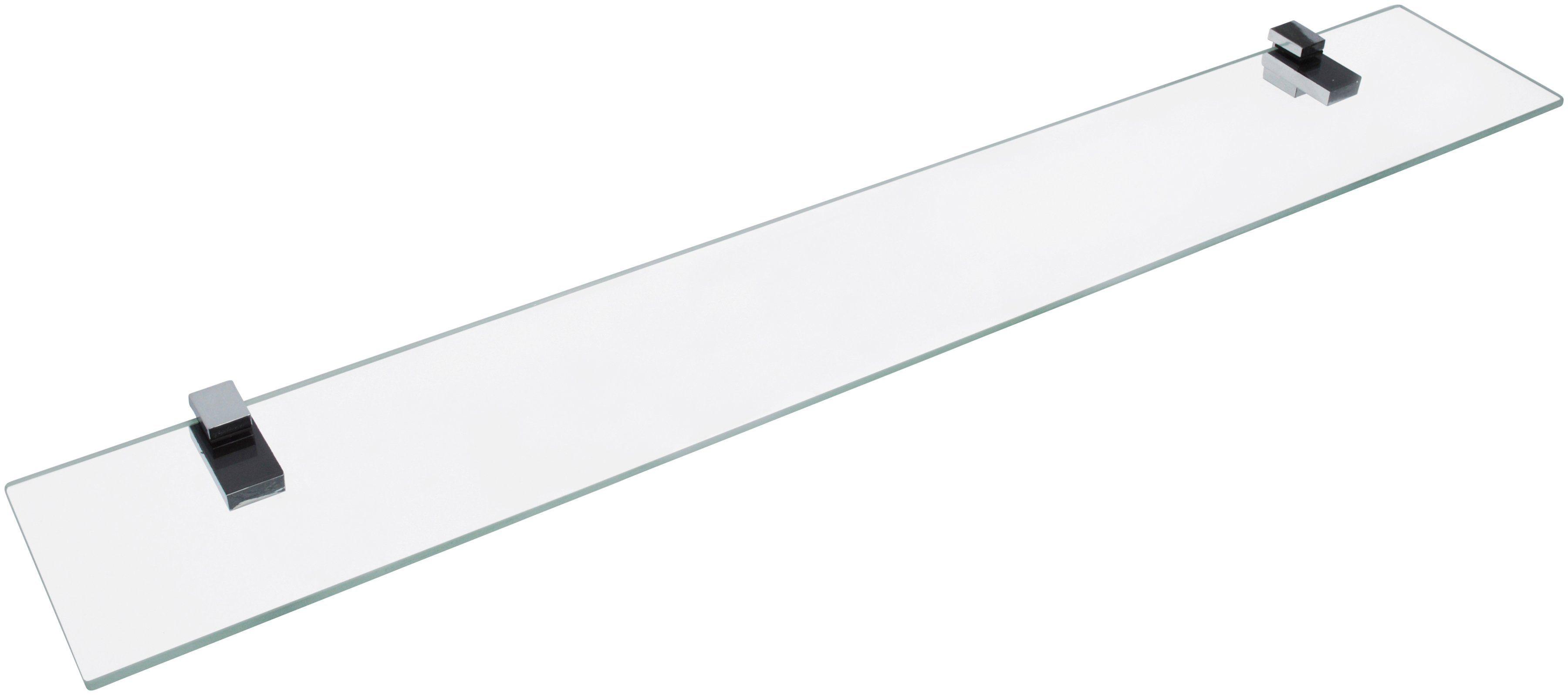 Fackelmann Ablage »aus Glas«, Breite 80 cm