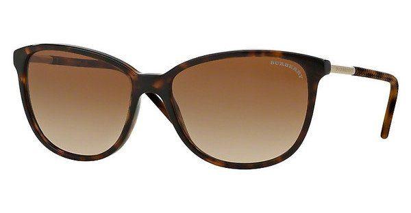 BURBERRY Burberry Damen Sonnenbrille » BE4224«, braun, 300213 - braun/braun