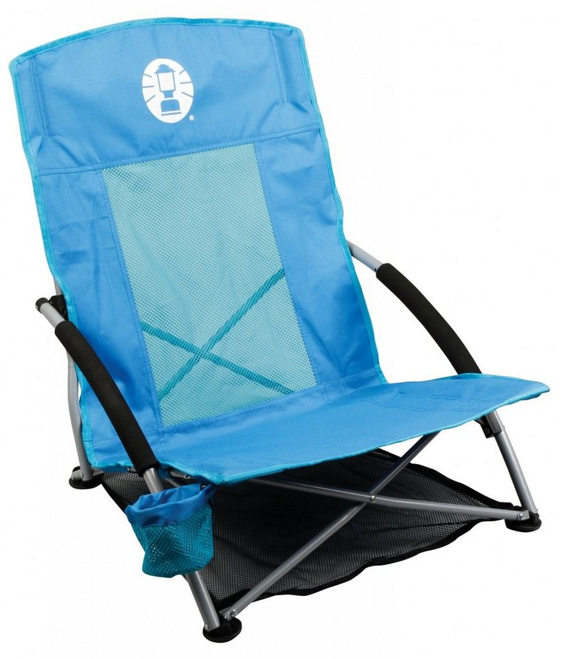 Coleman Camping-Stuhl »Low Sling Chair« in blau