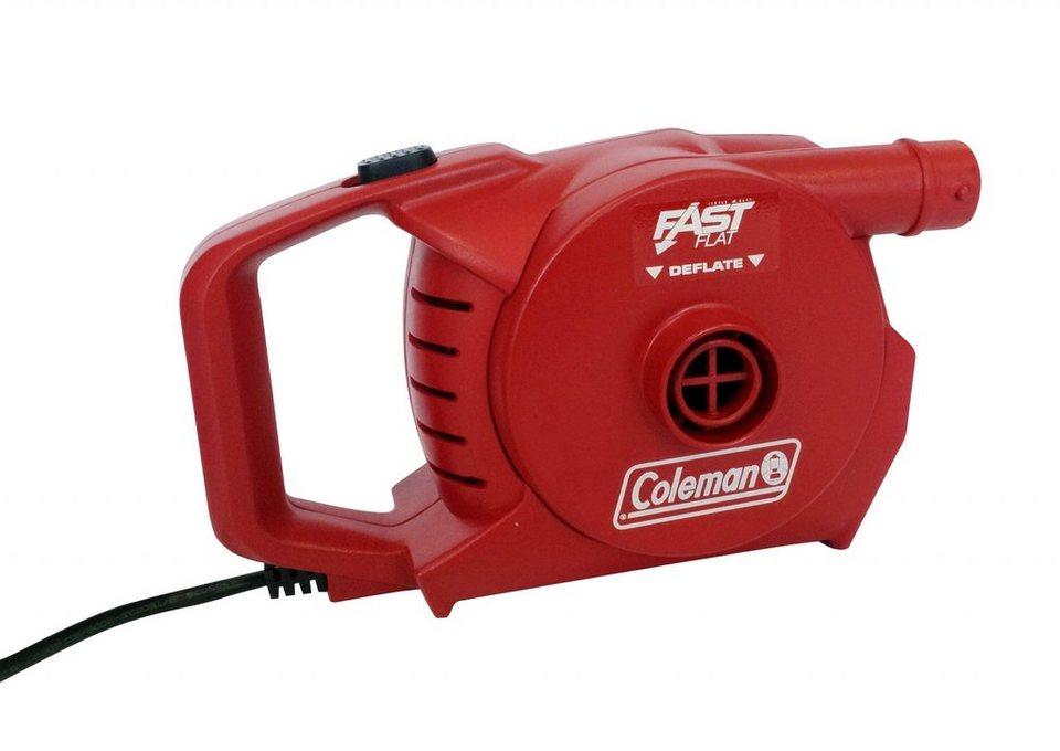 Coleman Luftmatratze »QuickPump 230 Volt« in rot