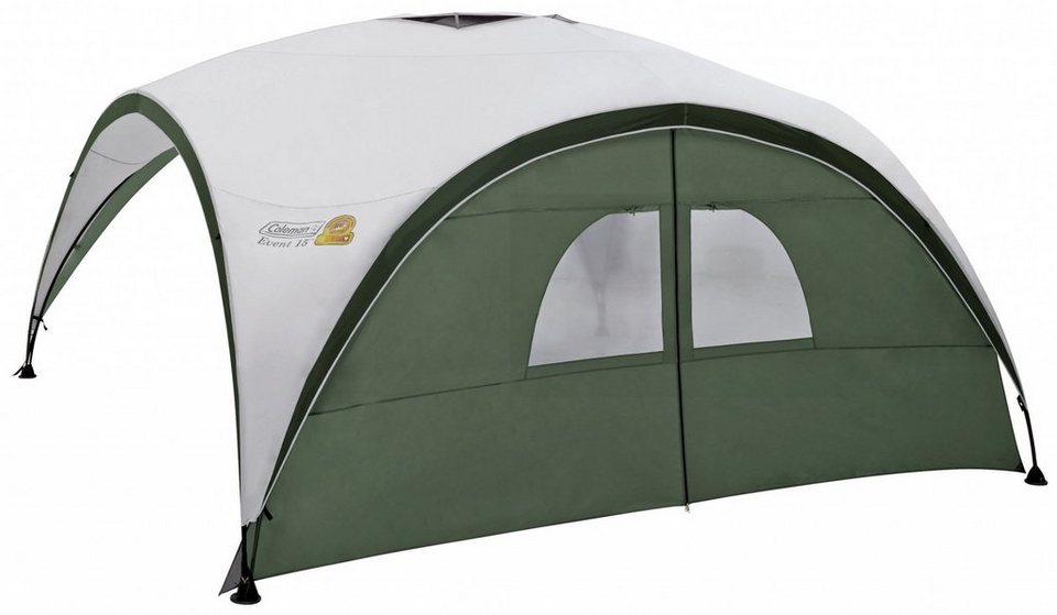 COLEMAN Zelt »Event Shelter Sunwall with Door 3m« in grau