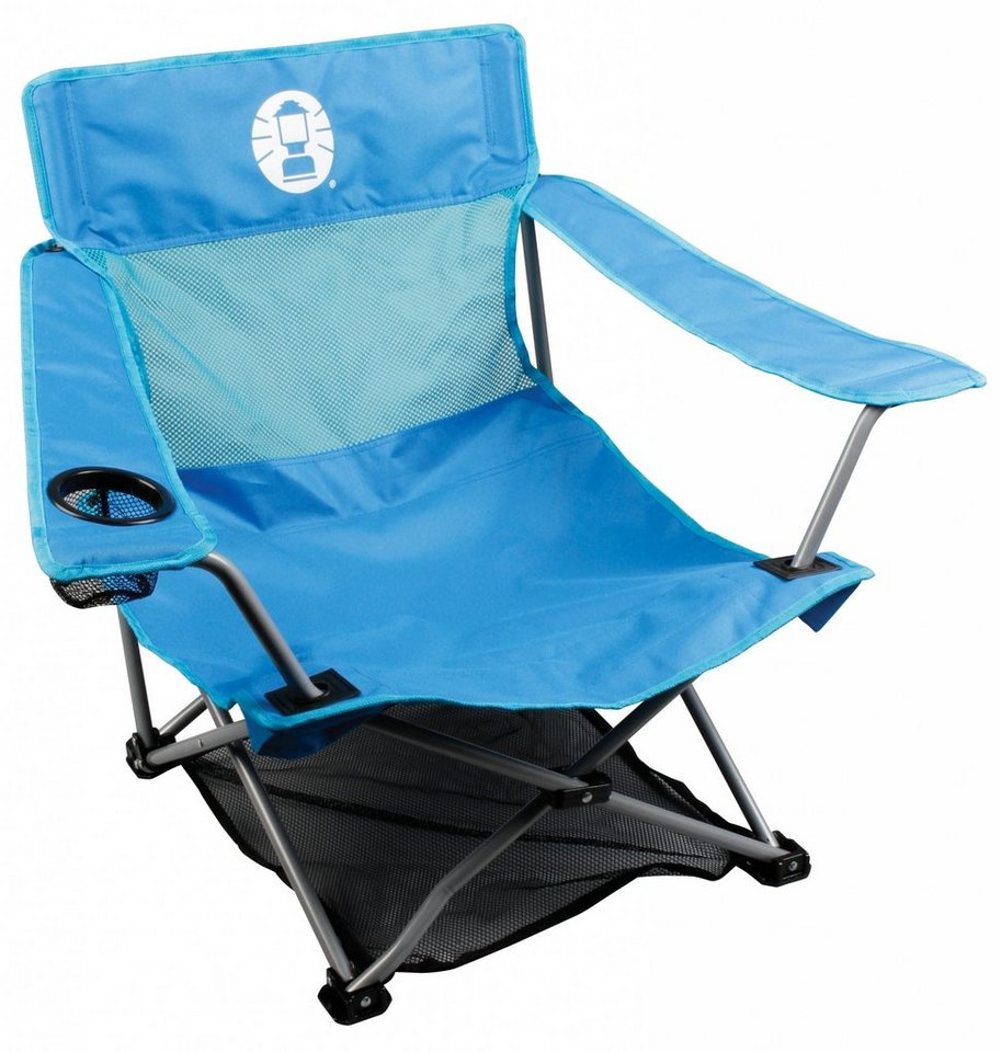 COLEMAN Camping-Stuhl »Low Quad Chair« in blau