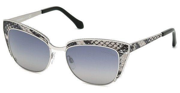 Roberto Cavalli Damen Sonnenbrille » RC973S« in 16C - silber/grau
