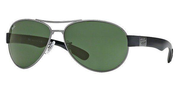 RAY-BAN Herren Sonnenbrille » RB3509« in 004/71 - grau/grün