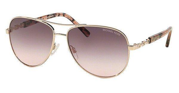 Michael Kors Damen Sonnenbrille »SABINA III MK5014« in 10265M - rosa/rosa