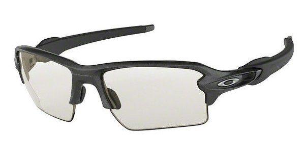 Oakley Herren Sonnenbrille »FLAK 2.0 XL OO9188«, grau, 918804 - grau/lila