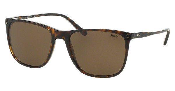 Polo Herren Sonnenbrille » PH4102« in 500373 - braun/braun