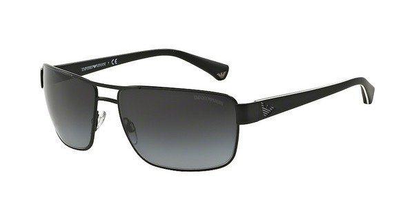Emporio Armani Herren Sonnenbrille » EA2031« in 31098G - schwarz/grau