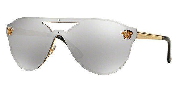 Versace Sonnenbrille » VE2161«, schwarz, 10008G - schwarz/grau